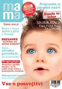 Naslovnica Revija MAMA April 2014