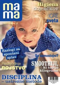 Revija MAMA- NASLOVNICA MAJ 2015