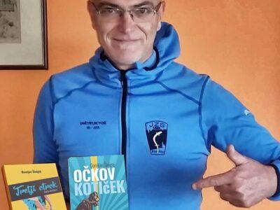 Avtor z novima knjigama